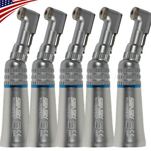 5 nsk Style Dental Slow Low Speed Contra Angle Handpiece Push Button Type Ybb m4
