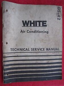 1977 White Tractor Combine Air Conditioning Technical Service Manual