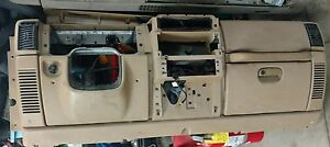 1999 Jeep Wrangler Tj Complete Dash Assembly Tan Airbag Oem