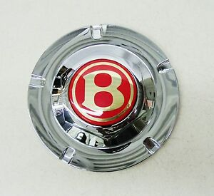Bentley Arnage Chrome Center Hub Cap With Red Middle Center Cap Pd57156pa