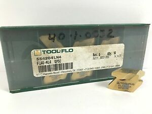 Tool flo Flas 4l4 New Carbide Inserts Grade Gp50 7pcs X
