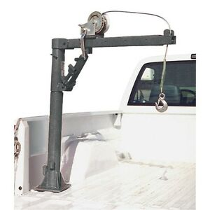 1 2 Ton Capacity Pickup Truck Crane With Cable Winch