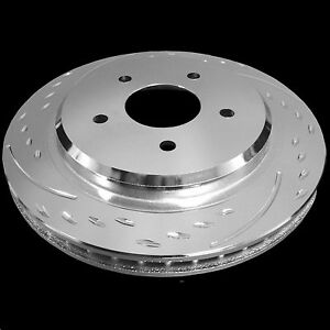 1994 2004 Ford Mustang Base Gt Diamond Slotted Rotors