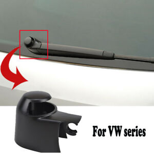 Fit For Vw Golf Passat Polo Touran Caddy Rear Window Wiper Arm Cap Washer Cover