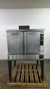 Blodgett Zephaire Convection Single Oven Natural Gas Tested 115 Volt On Legs