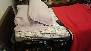 Electric Hospital Bed Excellent Condition With Metal Frame brand Name mediline