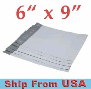 6x9 poly Polly Mailers Shipping Envelopes Self sealing Plastic Mailing Bags Usa