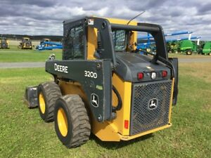 2011 John Deere 320d Skid Steer Loaders