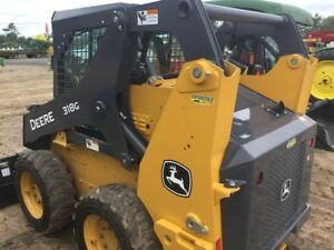 2016 John Deere 318g Skid Steer Loaders
