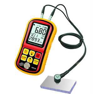 Gm130 Precision Ultrasonic Thickness Gage Gauge Steel Thickness Tester