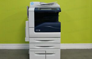 Xerox Workcentre 7855i Color Tabloid Printer Copier Scanner All in one 55ppm