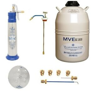 Brymill Cry ac Cryosurgical Ln2 Sprayer Family Practice Package Bry 1001