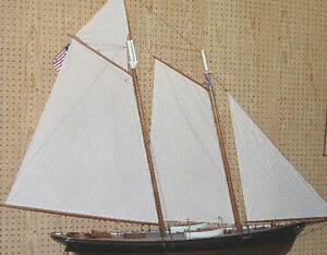 Vintage Ship Model America Sailing Yacht Of 1851 America S Cup