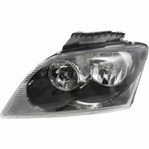 Halogen Headlight For 2005 2006 Chrysler Pacifica Left W Bulb