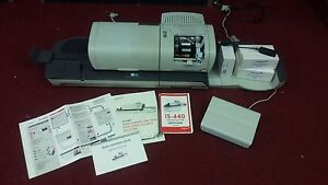 Neopost Mailing Meter Machine Is 440 Works Great Slightly Used Condition