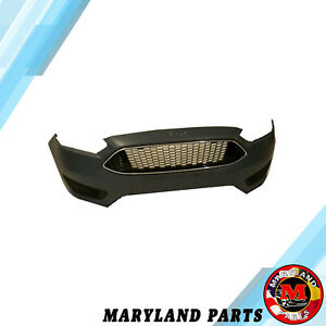 For 2015 2019 Ford Focus Bumper With Grills And Fog Light Cover