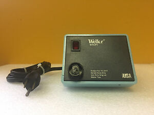 Weller Pu120t 120 V 60 Hz 60 W Solder Station Power Unit Tested