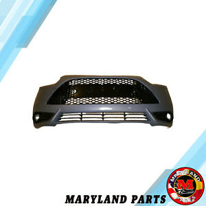 Front Bumper Cover W Grille W Support Assembly Fit Ford Focus St 13 14
