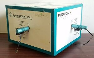 Synergetics Photon 2x Laser Light Opthalmic Opthalmology Eye Surgery Surgical Or
