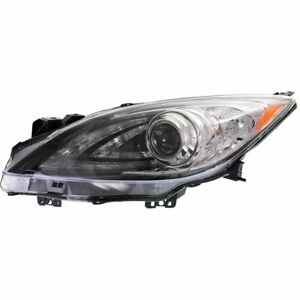 Hid Headlight For 2010 2013 Mazda 3 Left W Daytime Running Light