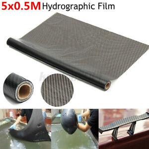 0 5 X 5m Carbon Texture Water Transfer Hydrodipping Film Fiber Hydro Dip Print