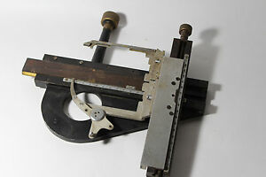 Carl Zeiss Microscope Stage Large Object Holder Mikroskop