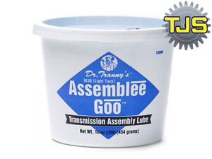 Lubegard Blue Transmission Rebuild Assembly Lube Grease Dr Tranny Assemblee Goo