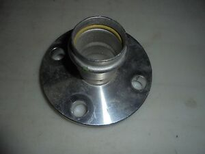 Viega 81055 Propress Stainless Steel Adapter Flange 1 1 2 Used