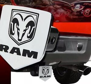 Bully 1 25 2 Trailer Towing Hitch Receiver Cover Licensed For Dodge Logo