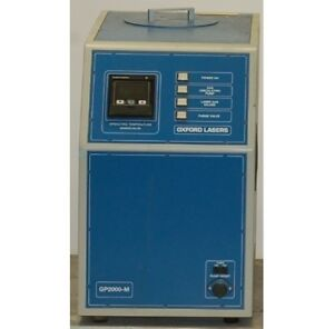 Oxford Gp2000 Gas Purifier used With Questek Excimer Laser 2860 Not Included