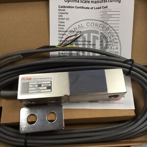 Op 310 Beam Load Cell 1 000 Lb optima Ntep w spacer Nib