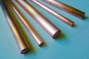 Copper 110 Astm B187 Rod Round 1 1 4 1 250 Dia 12 Long great Price