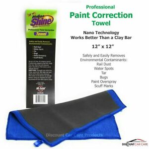 Magna Shine Paint Correction Towel Clay Bar Replacement Large 12x12