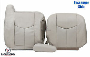 2003 2006 Cadillac Escalade Passenger Side Complete Leather Seat Covers Tan