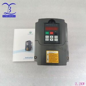 2 2kw 3hp Vfd 10a 220v Variable Frequency Drive Inverter Vfd Speed Control Vfd