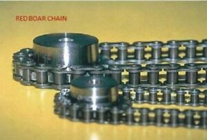 100 Roller Chain 1 1 4 Pitch Riveted With 1 Connecting Link 100 1r 10ft