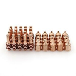 Ws Plasma Cutting Torch 1250 Electrode Nozzle Tips 120926 120931 Qty 40