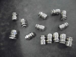 14 Skintop Brass Screwed Cable Glands