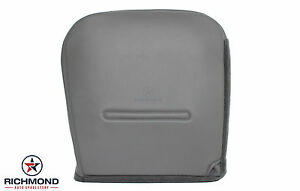 2002 2007 F250 Xl Diesel Service Utility Bed Driver Bottom Vinyl Seat Cover Gray