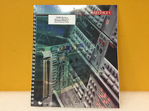 Keithley 2400s 903 01a 2400 Series Sourcemeter Quick Results Guide New