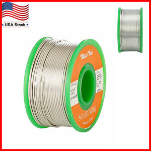 Lead Free Solder Wire Sn99 3 Cu0 7 With Rosin Core For Electronic 100g 3 5oz 1mm