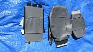 2003 2007 Saab 9 3 Oem Arc Grey Wagon Sedan Driver Left Side Leather Seat Covers