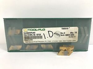 Tool flo Flg 3189l cb New Carbide Inserts Grade Gp50 8pcs Z