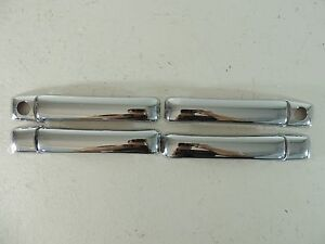 New 1991 1999 91 99 Vw Golf 3 Chrome Door Handle And Key Hole Cover 8pc Set