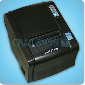 Partner Rp 320 Pos Thermal Receipt Printer Ethernet Usb Interface Dark Gray