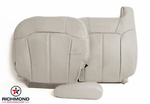 2000 2002 Chevy Tahoe Suburban Lt driver Side Complete Leather Seat Covers Tan