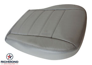 2005 Dodge Magnum 2wd Awd Driver Side Bottom Replacement Leather Seat Cover Gray