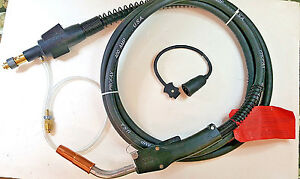 Profax Lincoln 400 Amp 15 Feet Mig Gun Torch Uses 1 16 Wire New other Usa