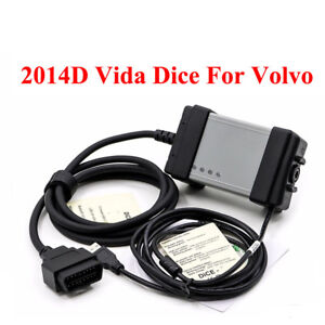 Fit Volvo Vida Dice 2014d Obd2 Obdii Diagnostic Tool Scanner Fault Code Reader