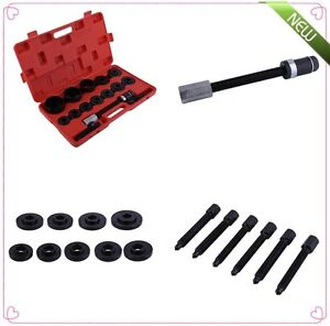19pc Master Set Front Wheel Hub Drive Bearing Removal Install Service Tool Set k